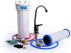 BWT In-Line Drinking Water Filter Kit with Chrome Tap and CFKIT01 Filter Cartridge